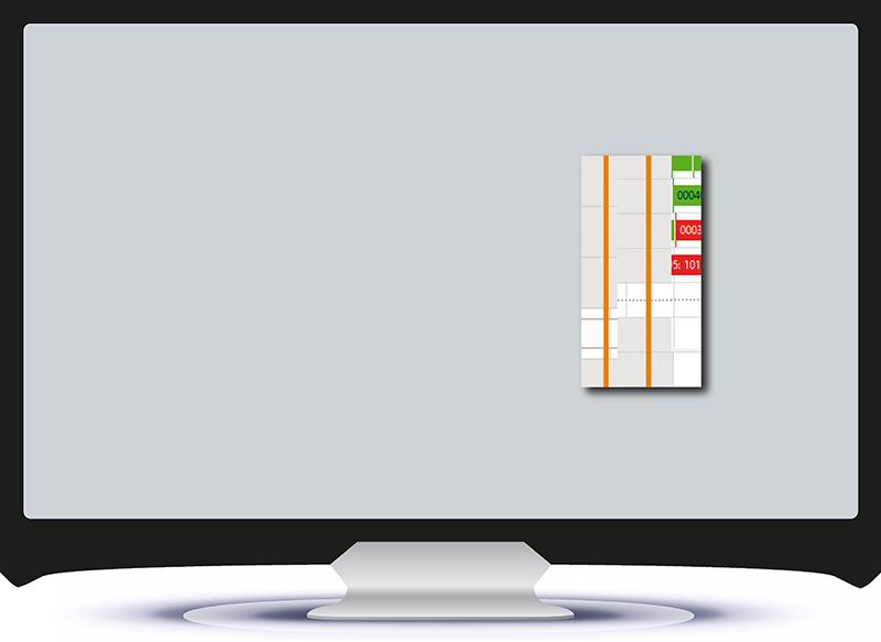Display of shift models (breaks)