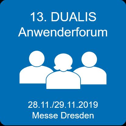 DUALIS Anwenderforum 2019